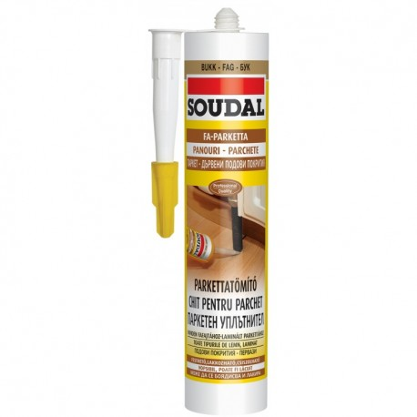 Soudal parkettkitt juhar 310ml (15) (043596)