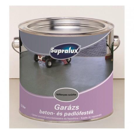 Supralux Garage beton- és padlófesték fehér 2,5