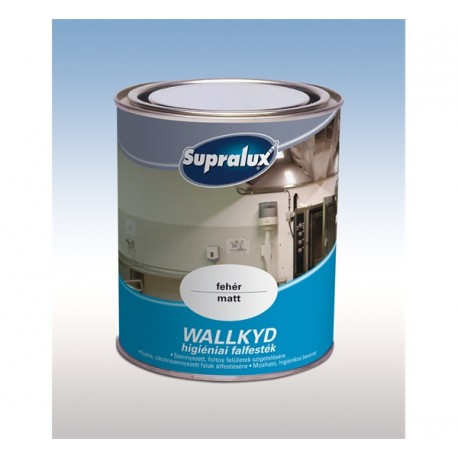 Supralux Wallkyd higiéniai beltéri falfesték fehér 2,5