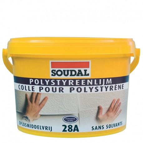 Soudal 28A Polystyrol ragasztó 5kg (508026)