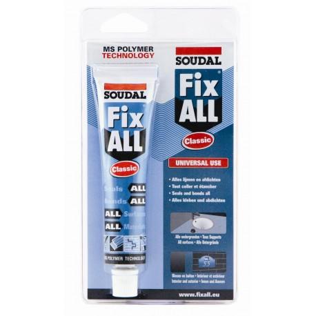 Soudal Fix All Crystal 80ml (10) (085084)