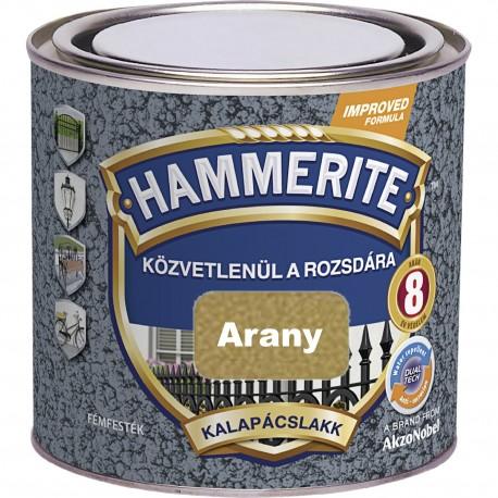 Hammerite Kalapácslakk Arany 0,75