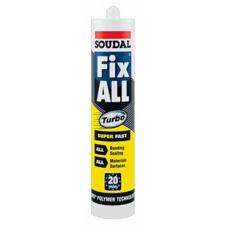 Soudal Fix All Turbo fehér 290ml (126857)
