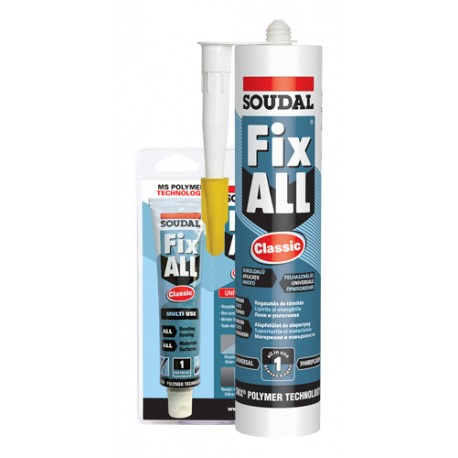 Soudal Fix All Classic fekete 290ml (106039)